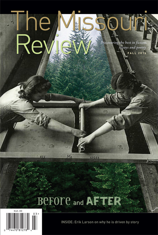 The Missouri Review, fall 2016